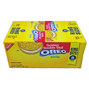 Double Stuf Oreo King Size 4 oz 10 Cookiesx