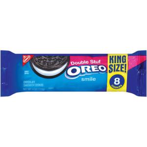 Двойной крем -шоколадное печенье OREO